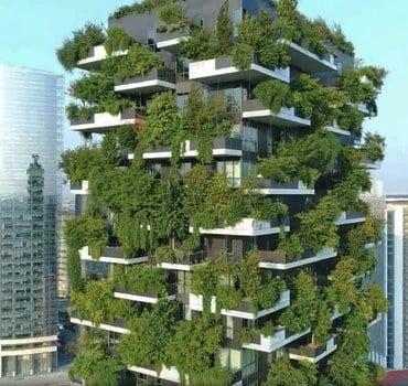 Nachhaltiges Hochhaus