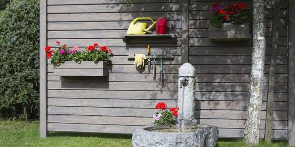 Sicht- und Trennwände für den Garten
