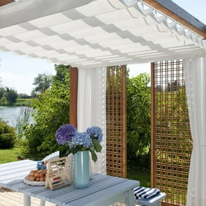 Wooden Pergolas: many solutions to create your own oasis of relaxation