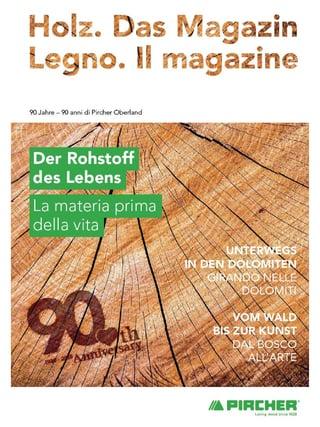 Holz. Das Magazin