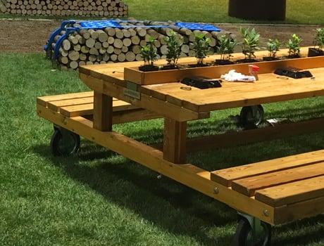 Pircher Tavoli Da Giardino.Pircher Wooden Garden Furniture