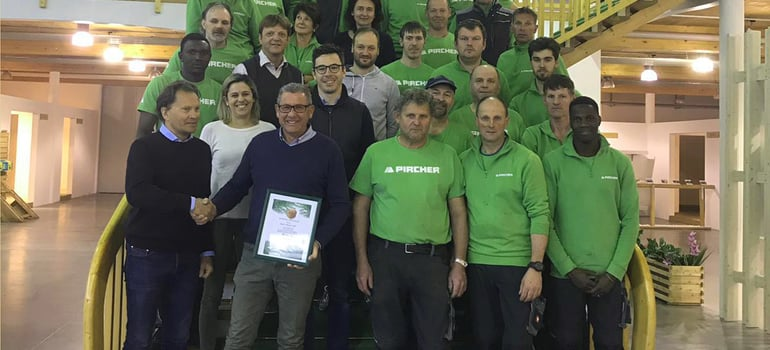 40 anni di onorato lavoro in Pircher