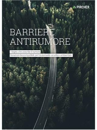 Barriere antirumore 2021