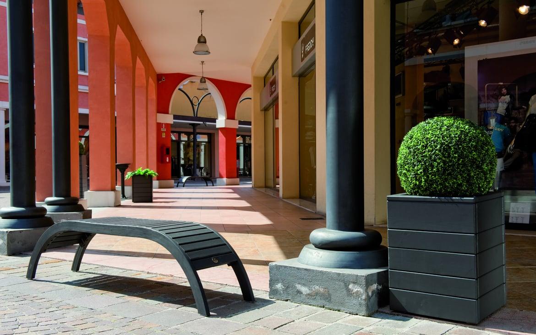 Residenziale arredo urbano pircher oberland spa for Vendita arredo urbano