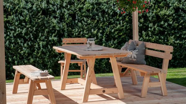 Meubles de jardin en bois