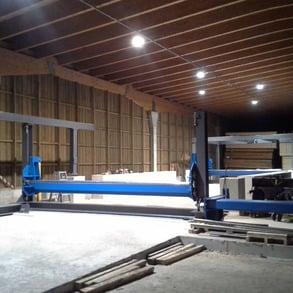 Neue Sortieranlage für Schnittholz