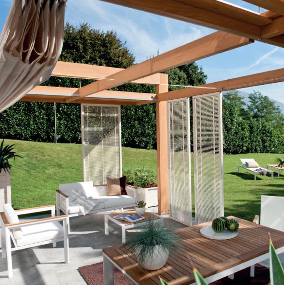 Mobili per giardino 4 criteri per sceglierli senza for Divisori da giardino