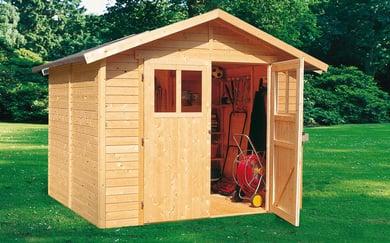 Casette da giardino pircher oberland spa - Casette in legno da giardino brico ...